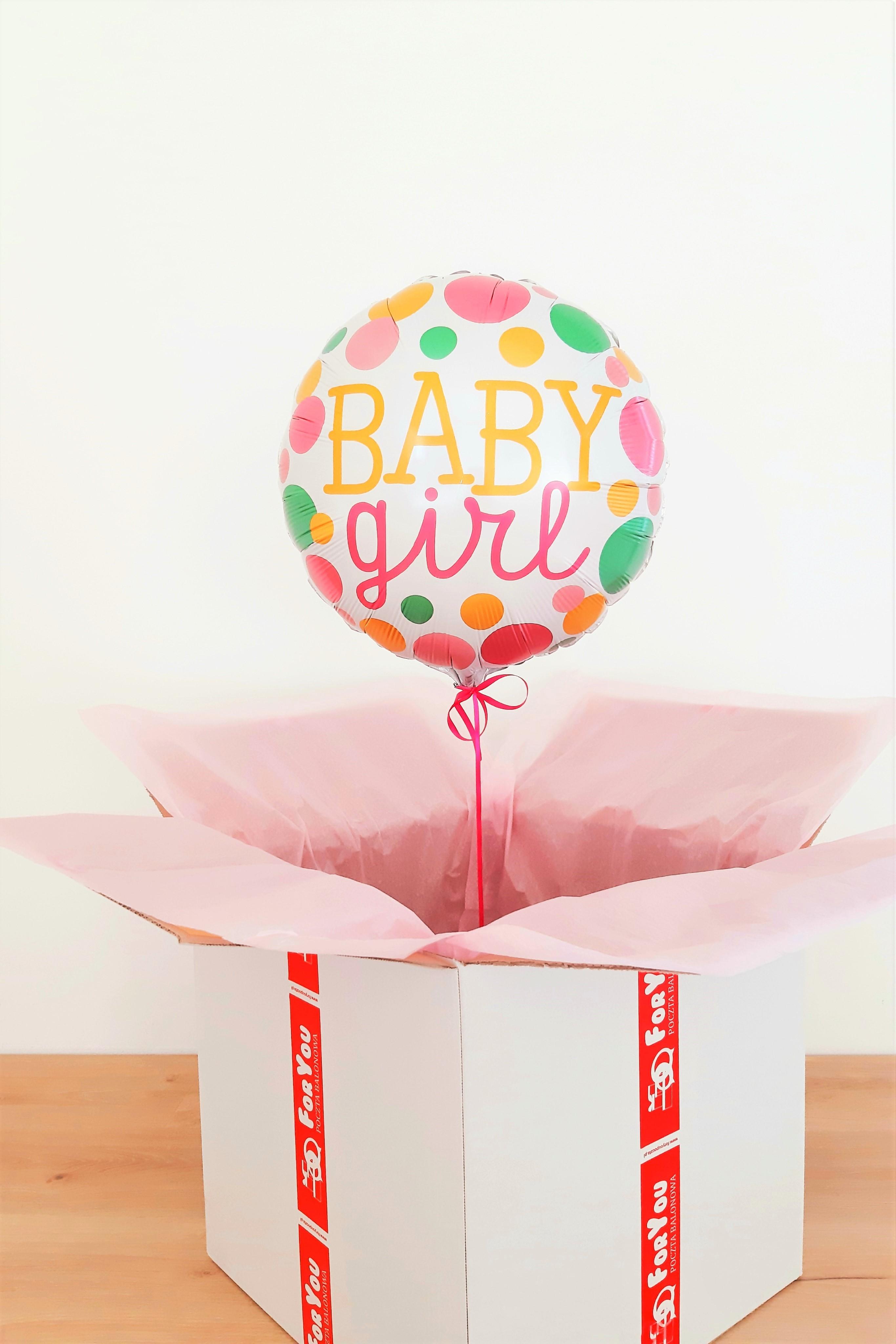 balon baby girl
