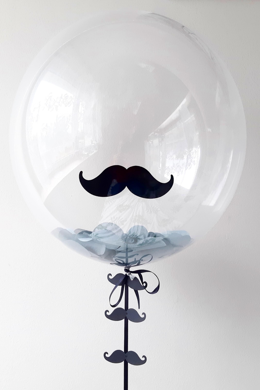 balon wąsy